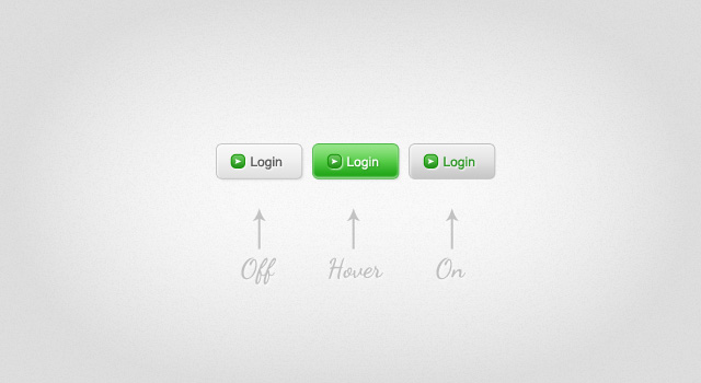 green amp white login web button blazrobarcom