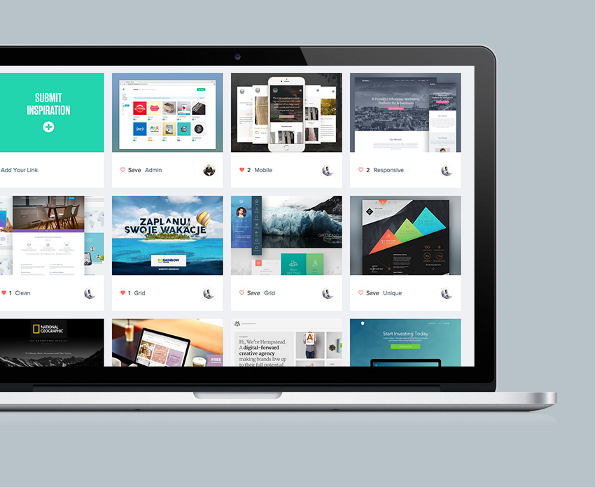 Daily Web design Inspiration