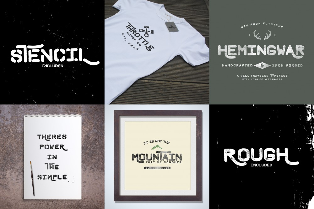 The Big 50 Font Bundle ($29)