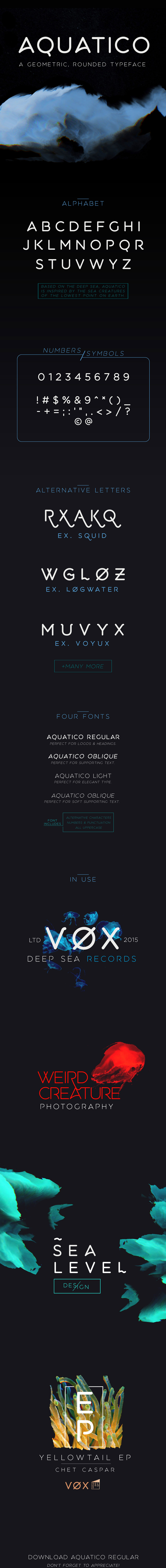 Awesome Free font by Andrew Herndon