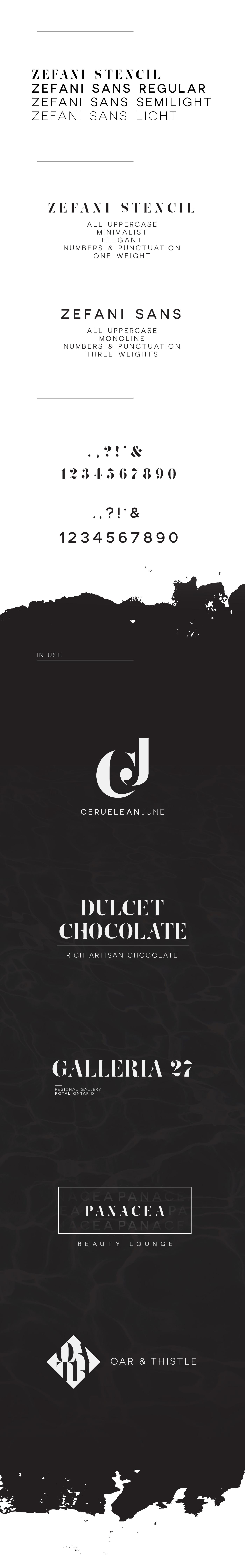 Zefani – Free Typeface