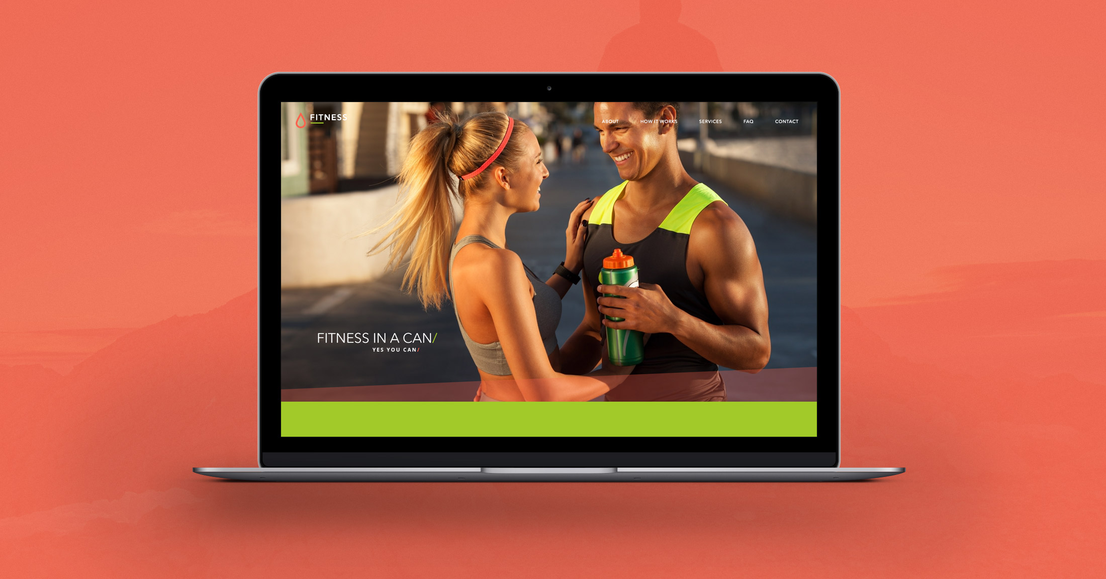 Fitness Free Photoshop PSD Template  Fitness Templates Free