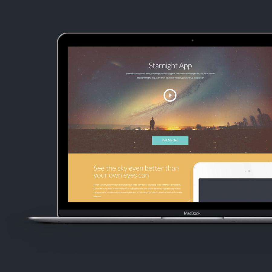 10 Free PSD website templates to get any design project started