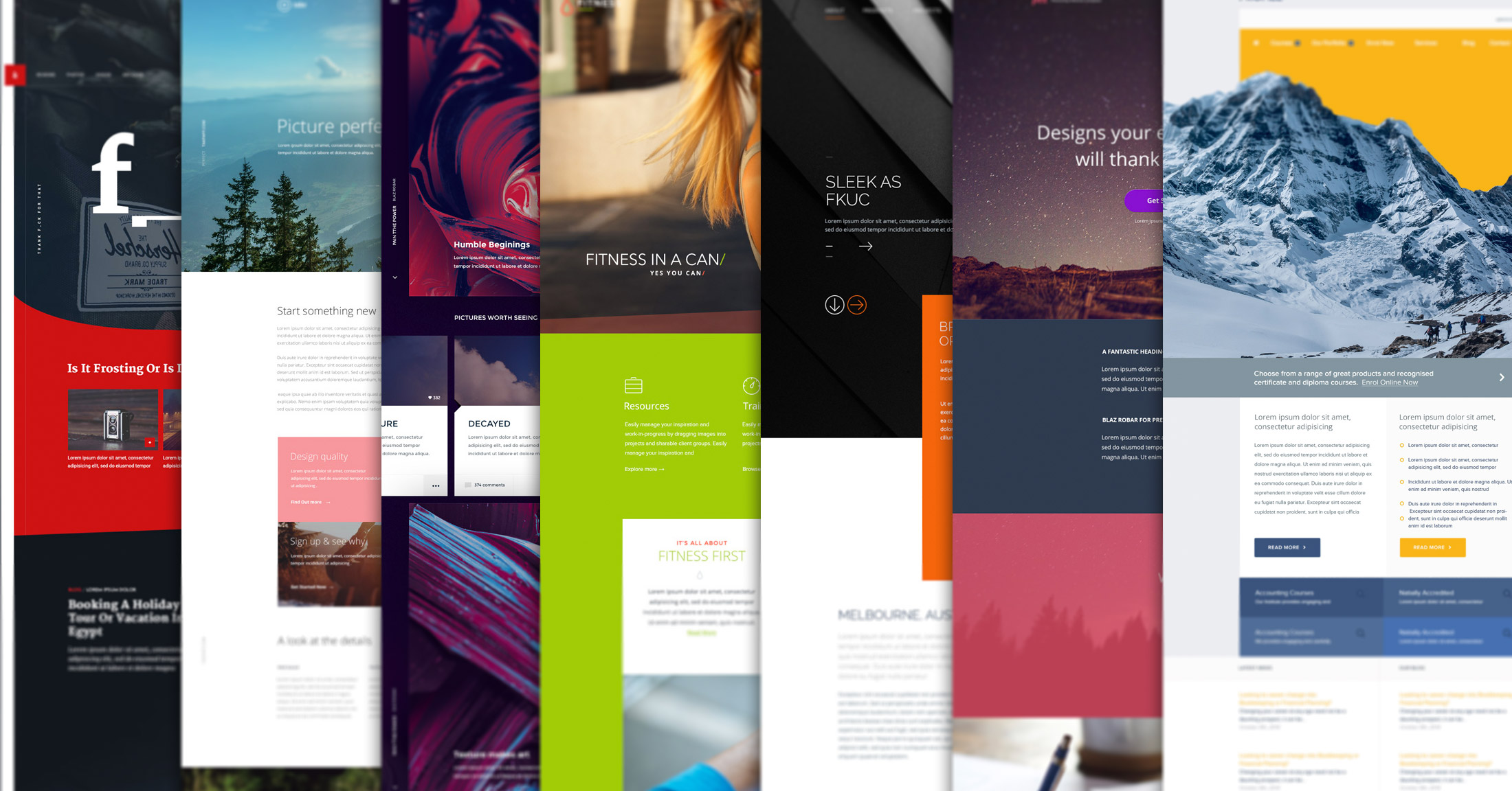 free photoshop templates - 10 free psd website templates to get any design project