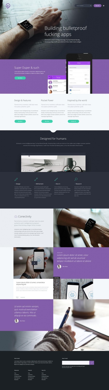 Tork Free PSD website template