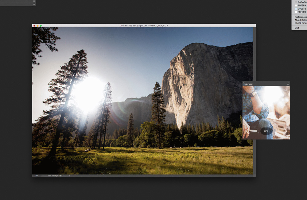LightLush Photoshop Plugin now available for download