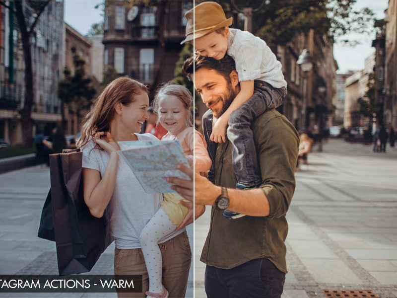 Free Photoshop Actions for Travel Photography