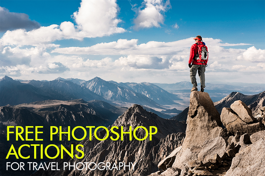 Free Photoshop Actions for Travel Photography - BlazRobar com